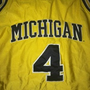 outlet store 2388f 39d9c Chris Webber Michigan Nike College Jersey